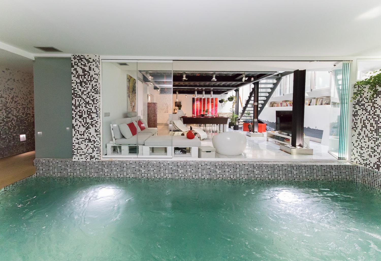 vivienda con terraza en madrid en venta