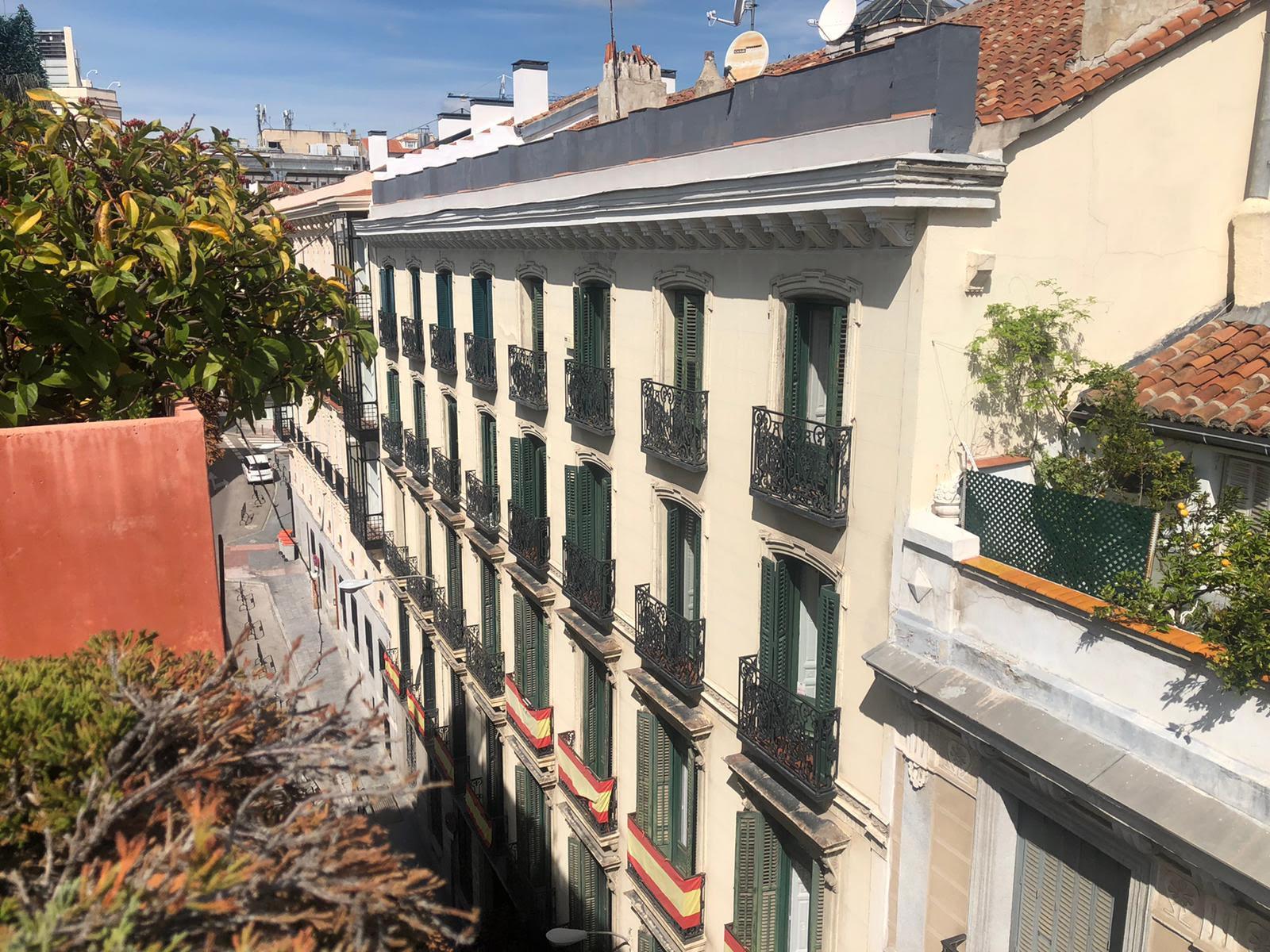 atico con terraza en madrid